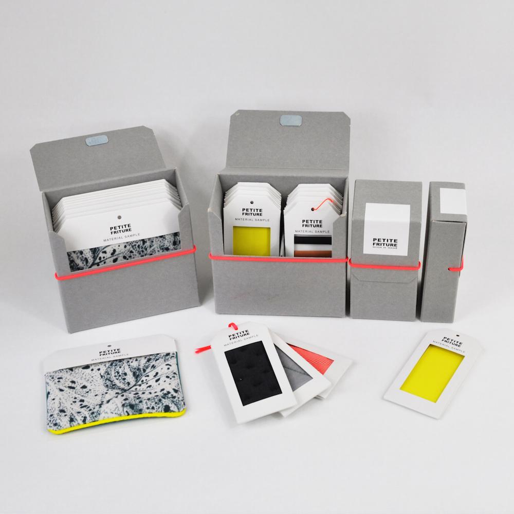packaging pour echantillons matiere