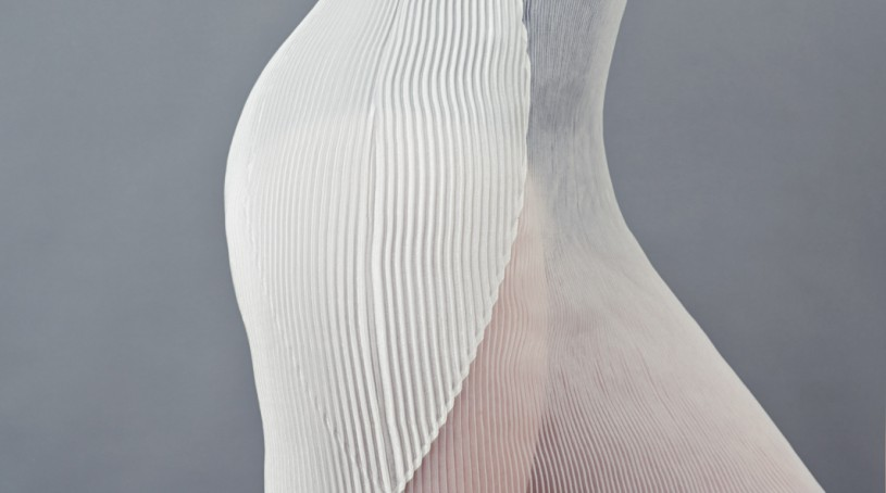 Mode et origami – tissu plissé