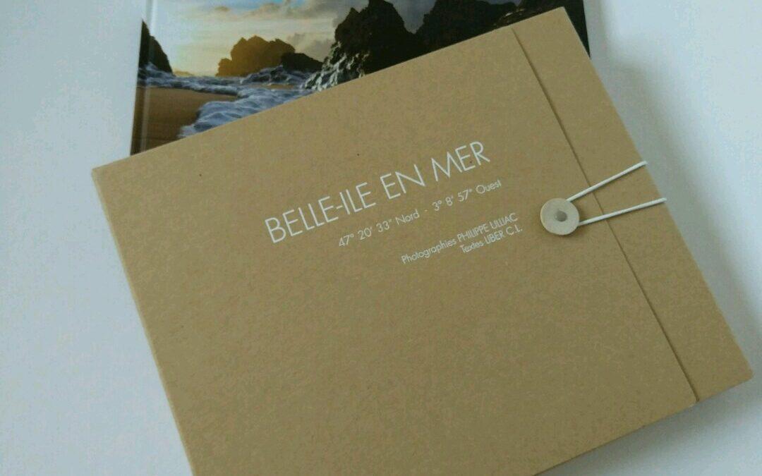 Coffret livre photo Belle-Ile en édition limitée