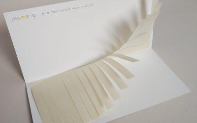 Pourquoi faire une carte de voeux papier ?