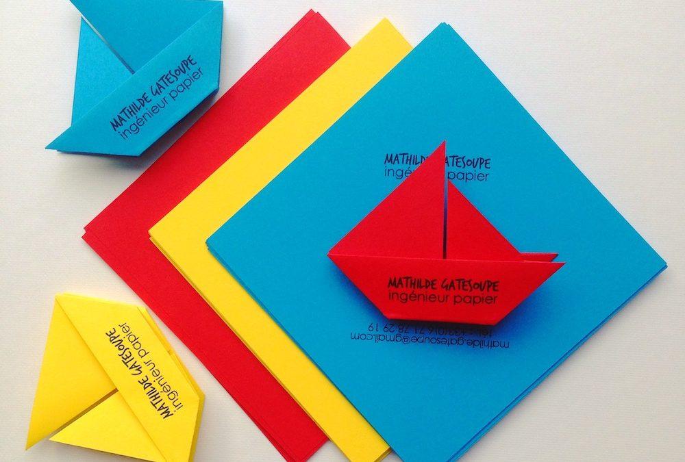 Origami et belles rencontres