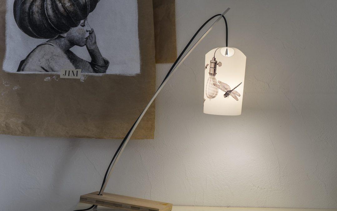 Les Allumoirs – luminaires en feuille de pierre