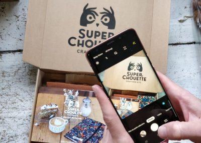 Packaging e-commerce personnalisé